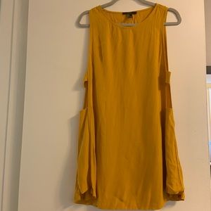 Forever 21 Yellow Tank Dress
